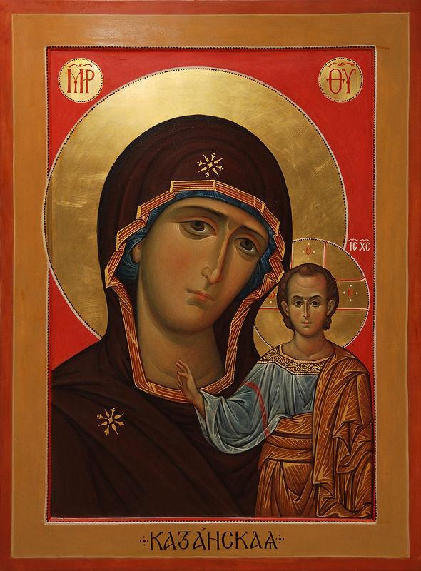 Казанская икона Божией Матери | Фото с сайта pravoslavie.ru