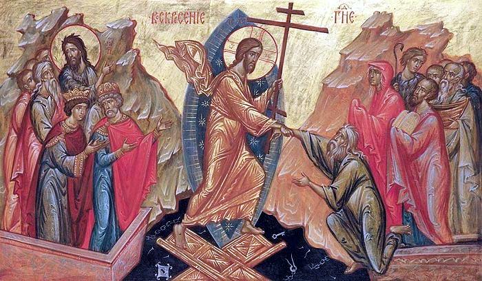Поздравление настоятеля Свято-Мефодиевского храма с праздником Пасхи