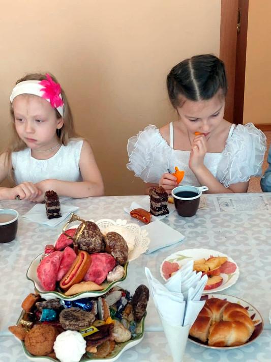 Престольный праздник с детьми
