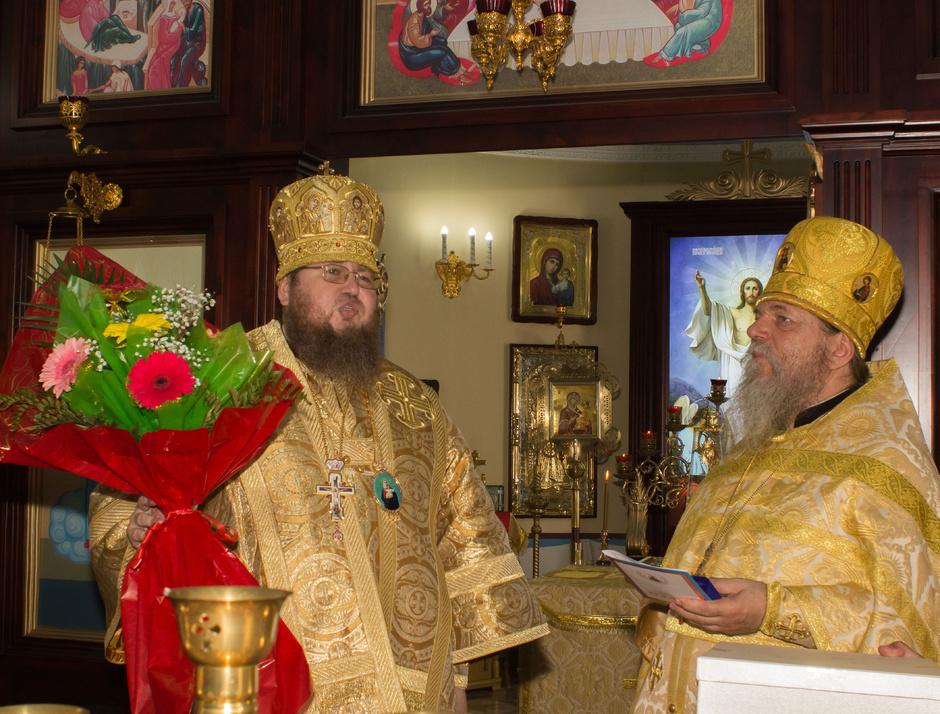 Божественная Литургия в день памяти святых отцев шести Вселенских Соборов