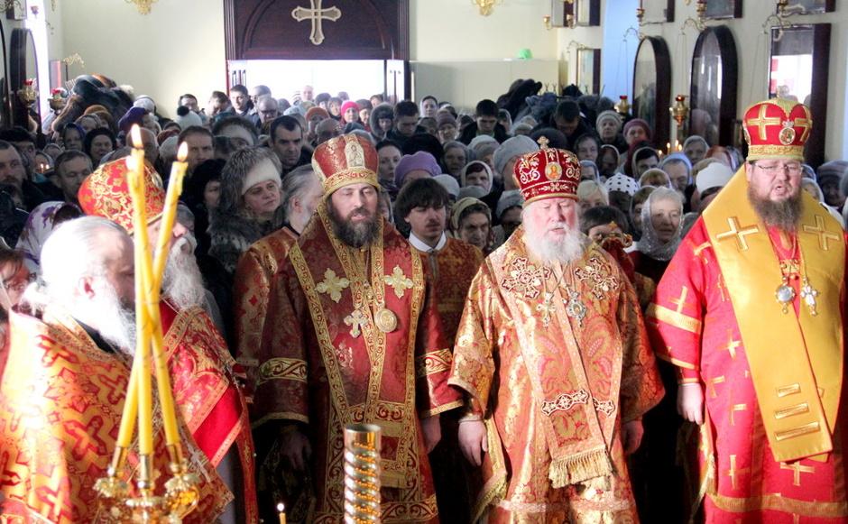 Первое празднование новомучеников и исповедников Петропавловских