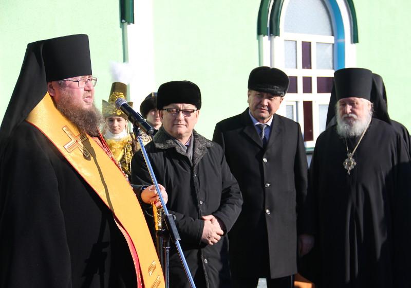 Мефодиевский храм был официально открыт после Божественной Литургии