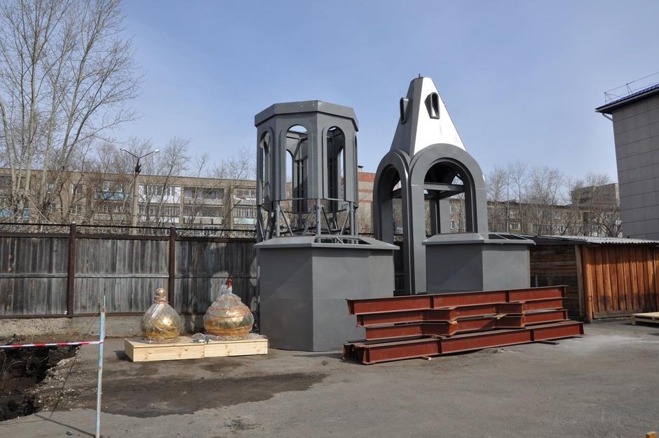 Современный храм священномученика Мефодия Петропавловского